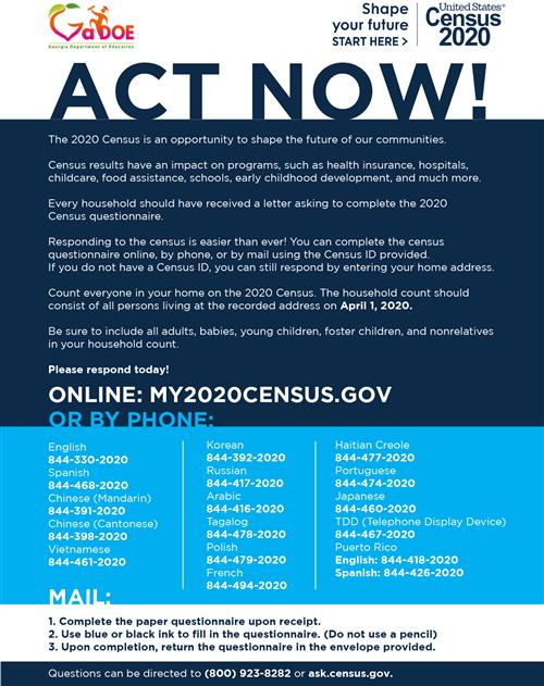 ACT NOW Flyer