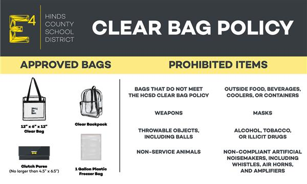 HCD Clear Bag Policy