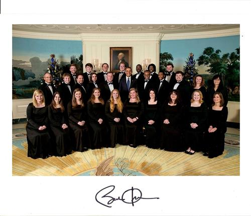 Singing for President Obama at the White House